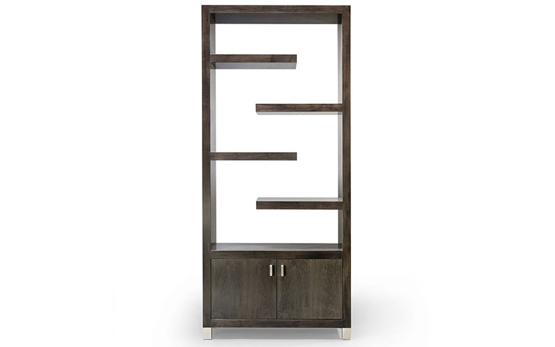 Knowlton Brothers  Contemporary Fine Furniture -> Armoire Blanche Etagere