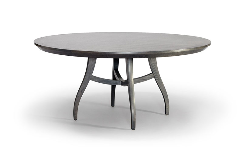 "clarion 66"" round dining table"