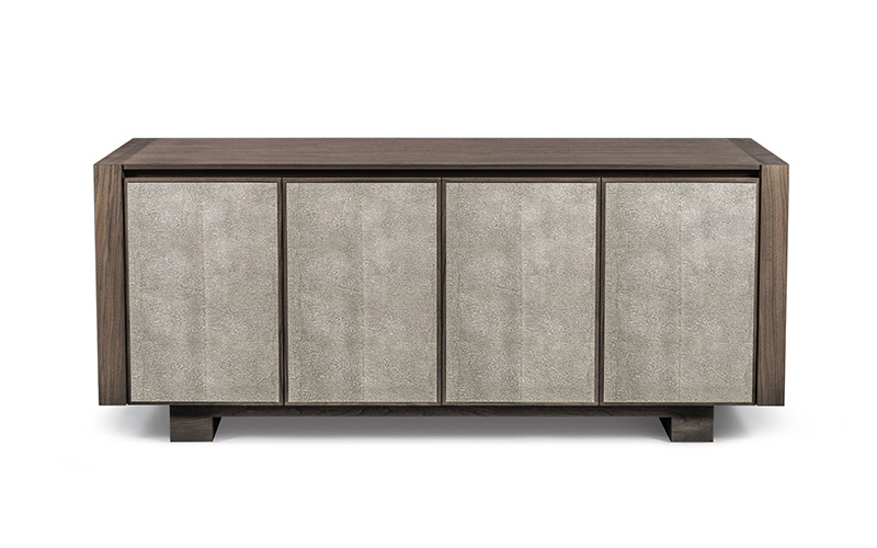 Element Leather Credenza