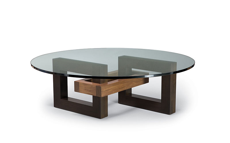 link round coffee table